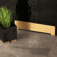 Confluo Wall Drain Gold